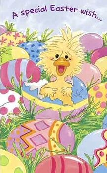 Suzy Zoo Birthday Cards | Little Suzy's Zoo Witzy In Easter Egg Greeting Card: MilliaKids.com