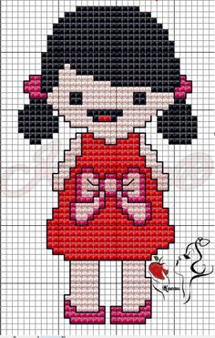 123 Cross Stitch, Cross Stitch Bookmarks, Cross Stitch Cards, Baby Boy Knitting Patterns, Baby Knitting, Crochet Phone Cover, Stitch Doll, Pixel Crochet, Stitch Cartoon
