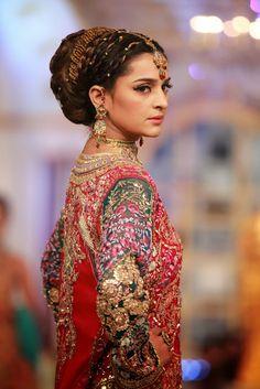 Pakistani Bridal Fashion's other fashion week - all the pictures from Day 1 of Pantene Bridal Couture Week 2013 Lahore  Karachi Lifestyle Pakistan Fashion Style blog Karachista