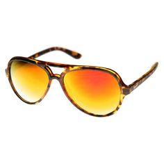 e2f830da0d0 Retro 1980 s Fashion Large Revo Lens Aviator Sunglasses 9476