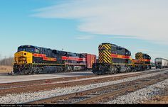 RailPictures.Net Photo: IAIS 510 Iowa Interstate RR GE ES44AC at Silvis, Illinois by Tom Farence