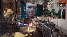 """CALL OF DUTY: ADVANCED WARFARE"" IM TEST Hollywoodstar Kevin Spacey zieht in den Krieg"