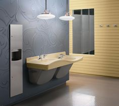Bradley Commercial Sinks : Bradley Corporation - Sinks on Pinterest Business news, Vessel sink ...
