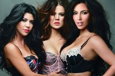 kardashians....sure great looks, no talent and less brains or common sense...materialism on steroids...