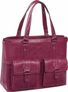 Women In Business Nairobi Laptop Shoulder Bag Pink - via eBags.com!