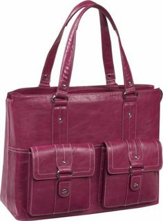 Women In Business Nairobi Laptop Shoulder Bag Pink - via eBags.com!