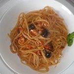 Linguine+in+salsa+rossa