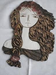 Resultado de imagen de pandora maria lalaouni Pandora, Decoration, Polymer Clay, Relief, Lady, Design, Designer Earrings, Faces, Flat Irons