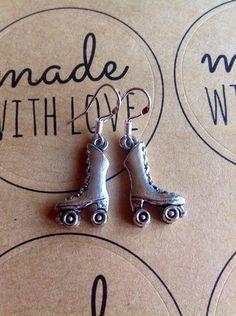 A personal favorite from my Etsy shop https://www.etsy.com/uk/listing/256526098/rollerskates-earrings-rollerskates