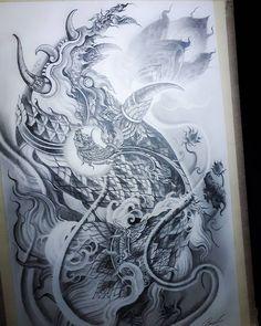 Khmer Tattoo, Sak Yant Tattoo, Jeep Commander, Thai Art, Thai Style, Art Sketches, Buddha, Abstract, Tattoos