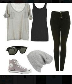 Laid back/tomboy outfit my style when im lazy :x