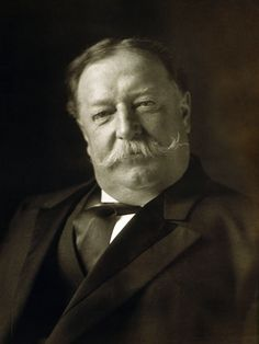 Willian Howard Taft     (1857-1930)                                                                           27 eme Président des USA