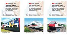 Kinder Billette in der Schweiz | Martin @pokipsie Rechsteiner Bahn, Lifestyle, Travel, Europe, Toy, Child, Childhood, Swiss Guard, Viajes