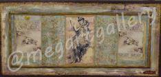 Artist: Paltarzidou Varvara Title:The Secret 61x130 mixed media Price: 800€