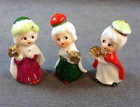 Vintage Miniature 3/Three KINGS Bone China Napcoware Figurines CHRISTMAS Display