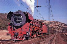 South African Railways Class 26 3450 4-8-4