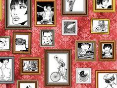 Scarica il catalogo e richiedi prezzi di Ritratti di valentina By wallpepper, carta da parati design Guido Crepax, Collezione wallpepper fine-art / guido crepax