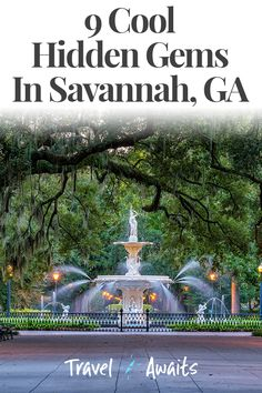 I LOVE Savannah Georgia! It's the iconic southern town and has so much history! This posts really does cover EVERYTHING you need to know when visiting Savannah Georgia. Including stuff outside the city to check out too! Savannah Georgia things to do Vacation Destinations, Vacation Trips, Vacation Spots, Greece Vacation, Vacation Packages, Oh The Places You'll Go, Cool Places To Visit, Places To Travel, Travel Stuff