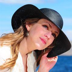 c8c4c58eb61 Black Brisa Panama Hat for Women