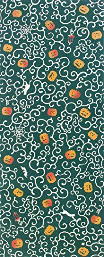 kenema Chusen Tenugui Halloween Arabesque Pumpkin