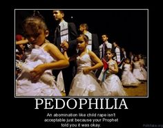 Sick perverted non-religion./ young brides. Just babies and given freely to adult men to rape and abuse...NICE CULTURE