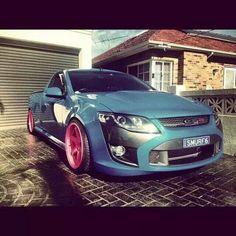 FG Falcon ute Aussie Muscle Cars, Australian Cars, Ford Falcon, Falcons, Slammed, Nest, Wheels, Vans, Trucks