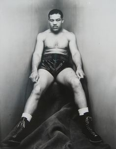 Irving Penn - Joe Louis, New York, February 15, 1948