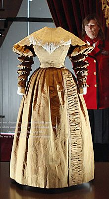 Queen Victoria's Privy Council Dress, worn at her first Privy Council on June 20, 1837