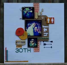 30th by Holly...Right at Home Scrapbooking.