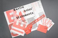 Berlin Artists' Statements on Behance