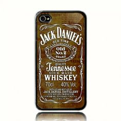 JACK DANIEL'S 11 iPhone 4 4s or iPhone 5 case