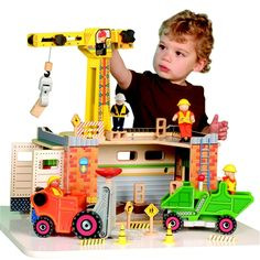 Big Fun Construction Site from CP Toys on Catalog Spree, my personal digital mall.