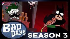 Batman and Joker - Bad Days - Season 3 Premiere!
