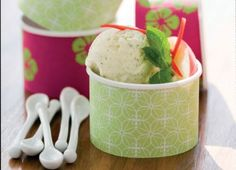 Jazz Apple, Mint and Chilli Ice Cream Recipe : Cook Vegetarian Magazine