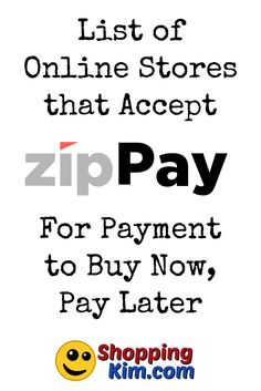list of online stores that accept zippay to buy now pay later click for
