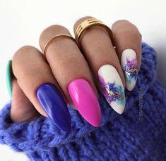 Manicure And Pedicure, Gel Nails, Acrylic Nails, Fabulous Nails, Gorgeous Nails, Uñas Fashion, Vintage Nails, Pointed Nails, Seasonal Nails