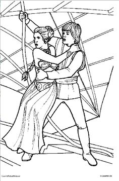 star wars princess leia coloring pages Coloring Pages of Star