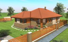 House Elevation, Sanya, Modern House Plans, Cabin Homes, Home Interior Design, My House, Gazebo, Farmhouse, Outdoor Structures