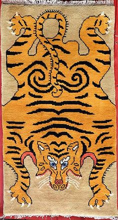 tibetian buddhist carpets rugs big bull tiger carpet tibetan tiger rugs beads buddhist. Black Bedroom Furniture Sets. Home Design Ideas