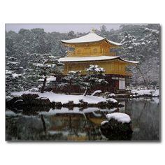 Sold! #Kinkaku #Snow #Postcards