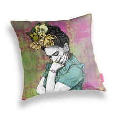 This cushion for when you need to rest your weary head: | 19 Beautiful Gifts For People Obsessed With Frida Kahlo
