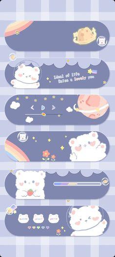 Source: @软绵绵猪   Wallpaper Kartun, Wallpaper Iphone Lucu