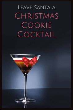 An easy, delicious recipe for Christmas Cookie Cocktail Cocktail Break,cocktail recipe,#Drinks