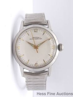 Vintage Croton Nivada Grenchen 17J Swiss Made Mens Wrist Watch #Croton