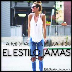 Define tu Estilo<3 #loveyourself  http://www.littleclosetboutique.com/