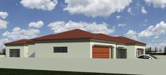 House Plans South Africa, Mlb, Garage Doors, Backyard, How To Plan, Mansions, House Styles, Gallery, Outdoor Decor