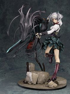 Ciel Alencon from the action game God Eater 2
