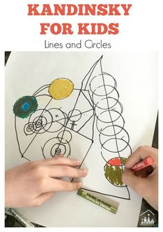 Famous artists for kids. Invite your child to look at a famous work of art and then set them the challenge of creating their own mini master piece. Make a start with our Kandinsky for Kids Lines and Circles Art Activity.