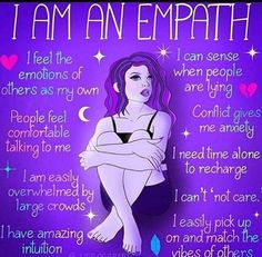 Empath Traits, Intuitive Empath, Psychic Empath, Highly Sensitive Person, Sensitive People, Empathy Quotes, Empath Abilities, Infj Personality, Psychic Readings