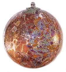 Witches Ball Leaded Glass, Mosaic Glass, Glass Floats, Blown Glass Art, Miscellaneous Things, Glass Pumpkins, Decorative Glass, White Magic, Dreamcatchers